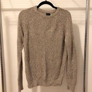 Men's J Crew tan sweater